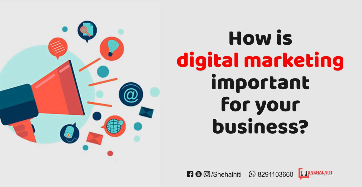 How is digital marketing important for your business?